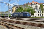 BLS Re 465 005-7 in La-Chaux-de-Fonds.