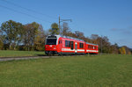be-44/525539/cj-be-44-651-in-herbstlicher CJ: Be 4/4 651 in herbstlicher Umgebung am 27. Oktober 2016.